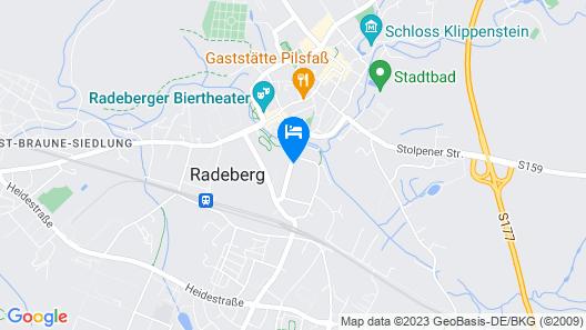vor den Toren Dresdens Map