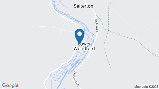 Stonehenge Cottages Map