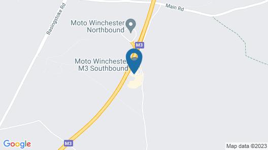 Days Inn by Wyndham Winchester M3 Map