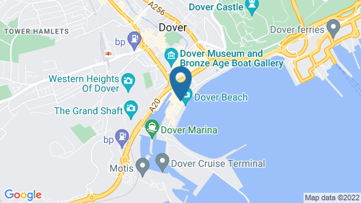 Best Western Plus Dover Marina Hotel & Spa Map