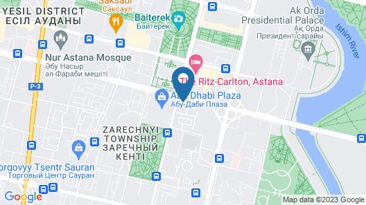 The Ritz-Carlton, Astana Map