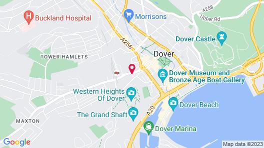 Hostel Alma & Cafe Express Map