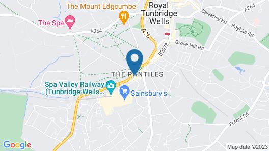 The Tunbridge Wells Hotel Map