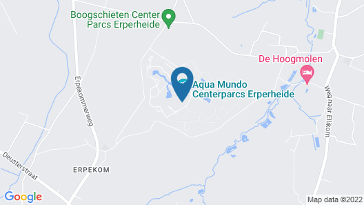 Center Parcs Erperheide Map