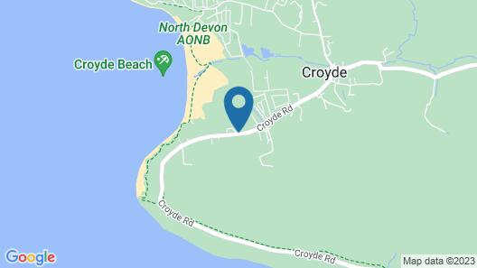 Croyde Bay Holiday Resort Map