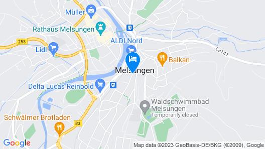 Hotel Sonnenhof Map