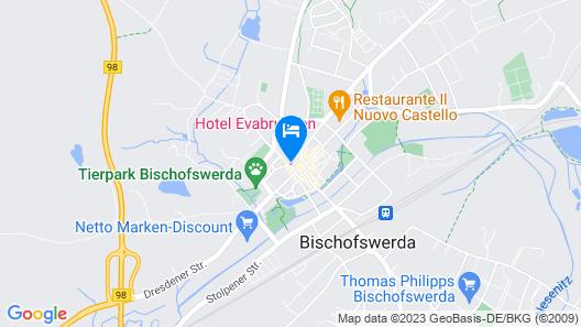 Hotel Evabrunnen Map