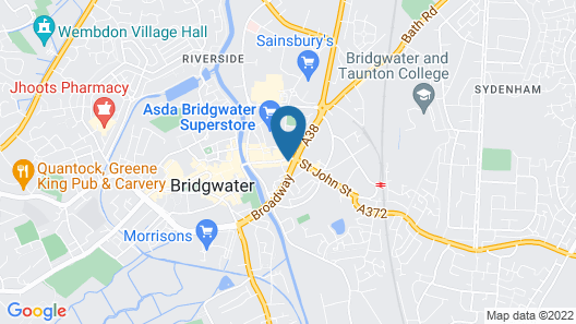 Mercure Bridgwater Hotel Map