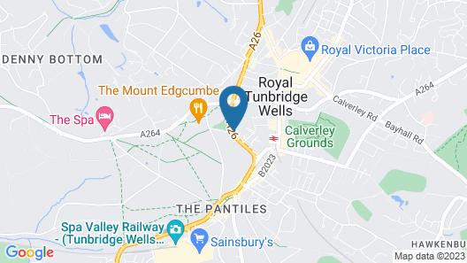 Tunbridge Wells Retreat Map
