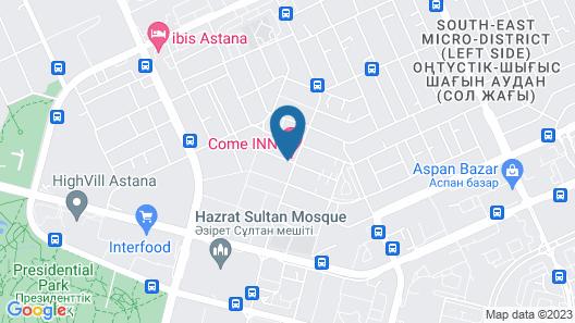 Come Inn Hotel Map