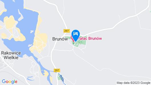 Palac Brunow Map