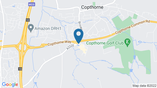 Copthorne Hotel London Gatwick Map