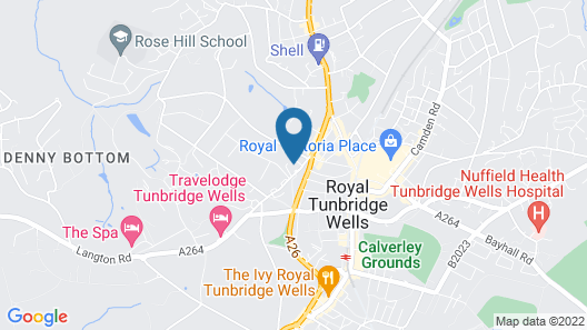 Royal Wells Hotel Map