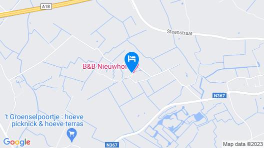 B&B Nieuwhof Map