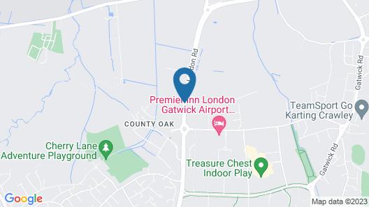ibis London Gatwick Airport Map
