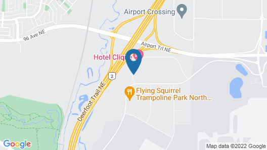 Hyatt Place Calgary Airport Map
