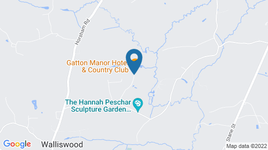 Gatton Manor Hotel & Country club Map