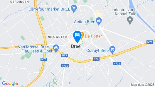 Hotel Brasserie Ingredi Map