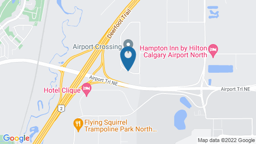 Park Inn by Radisson, Calgary Airport North, AB Map