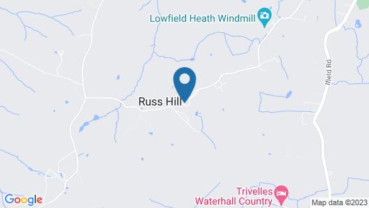 Russ Hill Hotel Map