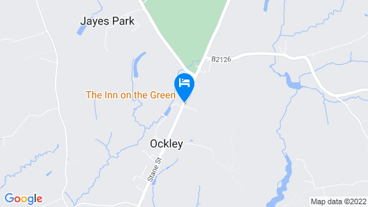 The Inn On The Green Map