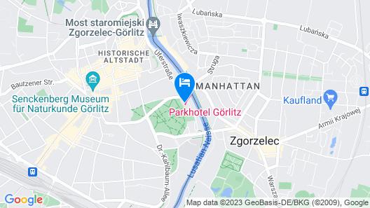 Parkhotel Görlitz Map