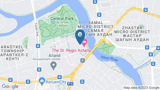 The St. Regis Astana Map