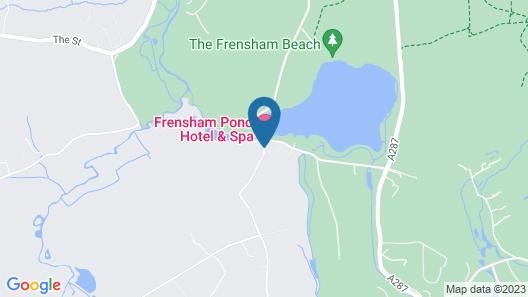 Frensham Pond Country House Hotel & Spa Map