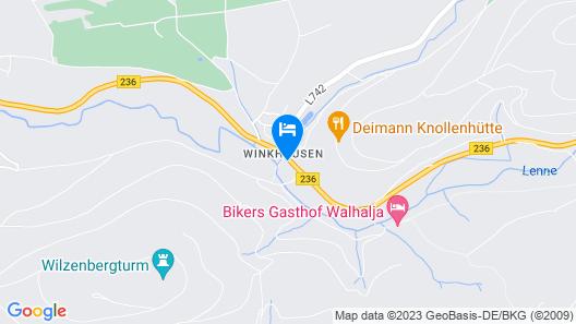 Romantik Wellnesshotel Deimann Map
