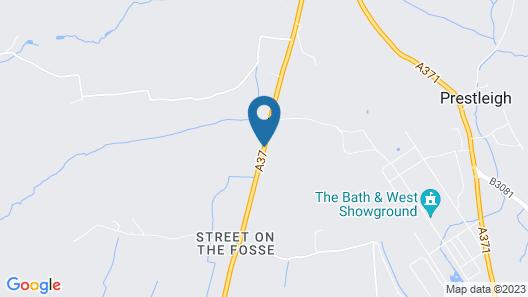 Whitecroft Farm B&B Map
