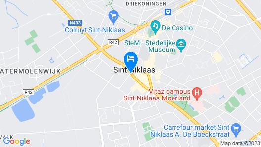 ibis Sint Niklaas Centrum Map