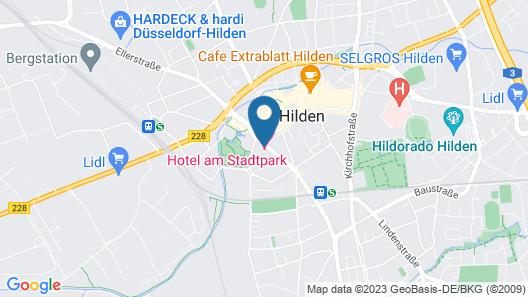 Hotel am Stadtpark Map