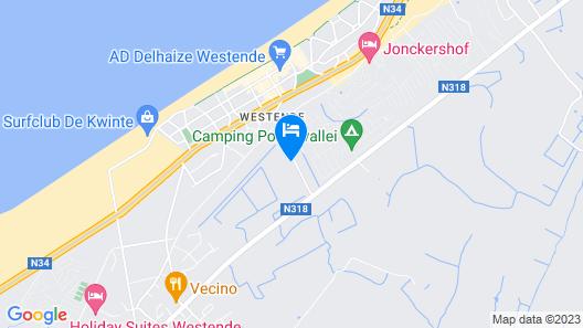 Ferienwohnung mit Balkon und Südwest Terrasse 600m von Strand Entfernt Map