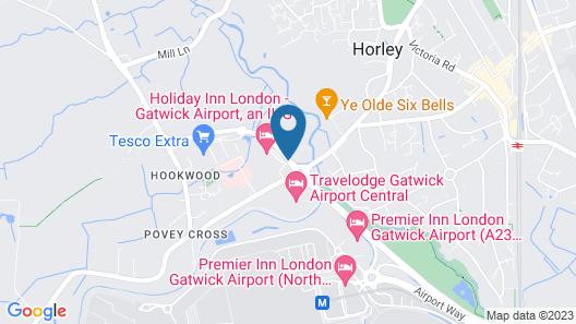 Holiday Inn London-Gatwick Airport Map