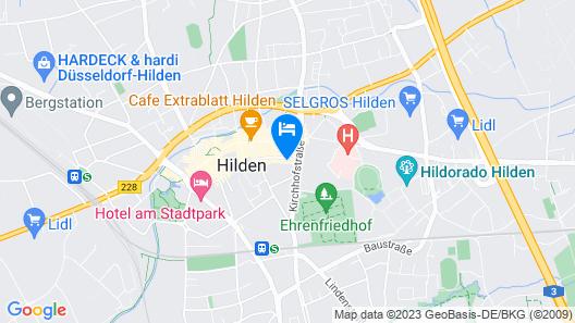 12Apart Düsseldorf/Hilden Map