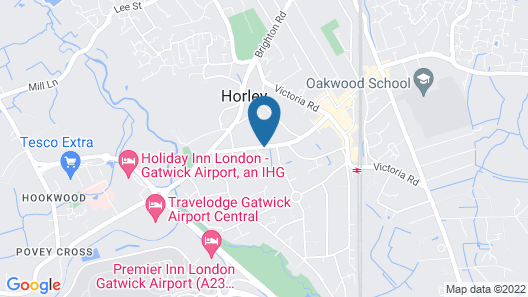 Gatwick Turret Guest House Map