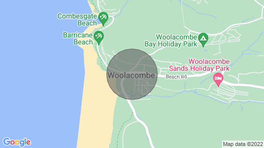 Woolacombe SEA View 2 Bedrooms Map