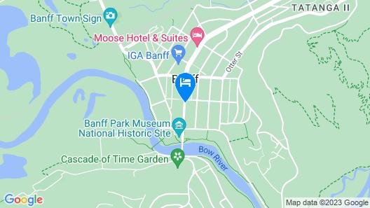 Mount Royal Hotel Map