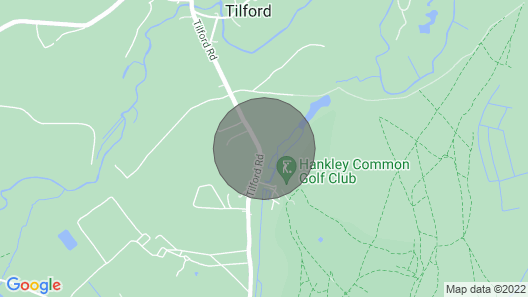 3 Bedroom Accommodation in Tilford, Farnham Map