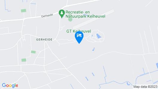 Safaritent At Camping Gt Keiheuvel Map