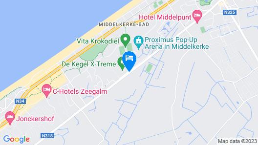 Hotel Acropolis Map