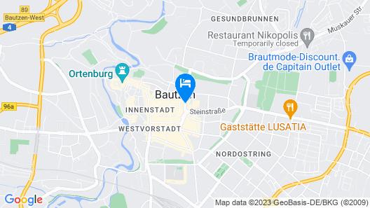 Best Western Plus Hotel Bautzen Map