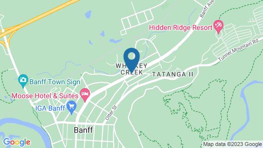 Charltons Banff Map
