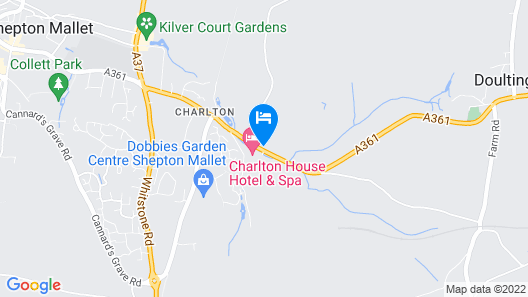 Charlton House Spa Hotel Map