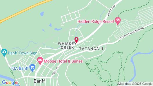 Rundlestone Lodge Map