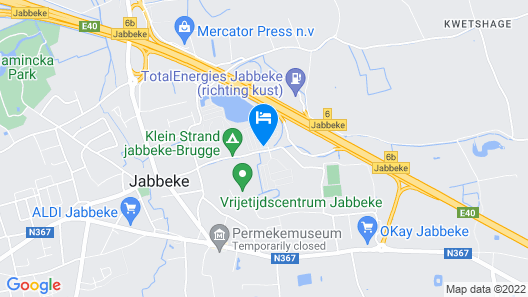 Ibis Budget Brugge Jabbeke Map