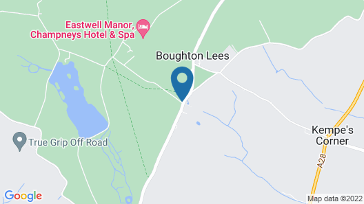 Eastwell Manor, Champneys Hotel & Spa Map