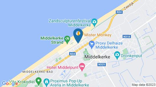 Hotel Kristoffel Map