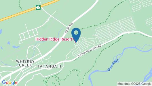 Hidden Ridge Resort Map