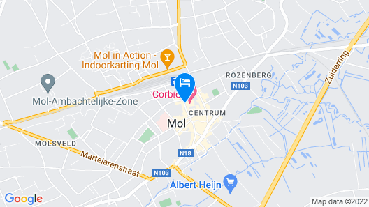 Corbie Mol Map